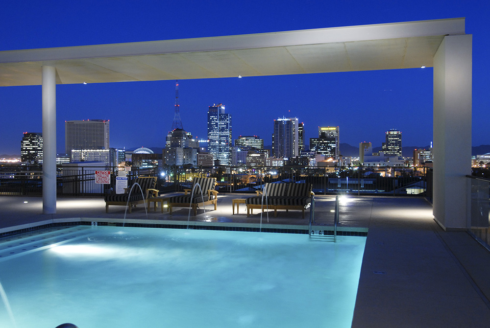 Portland Place Rooftop Pool