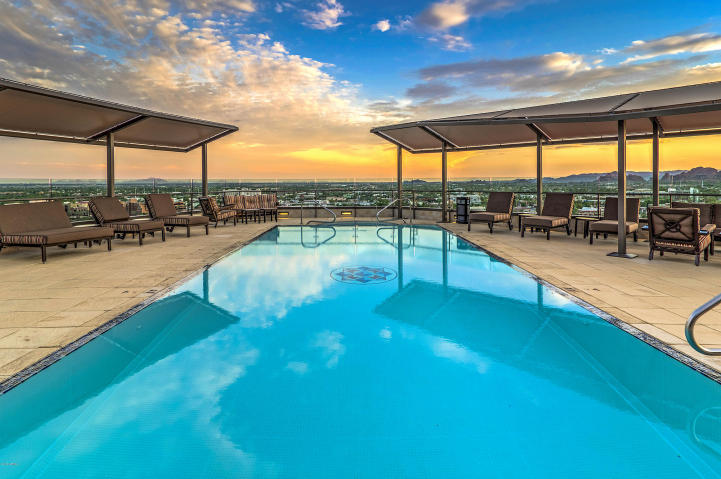 Scottsdale Waterfront Residences Rooftop Pool