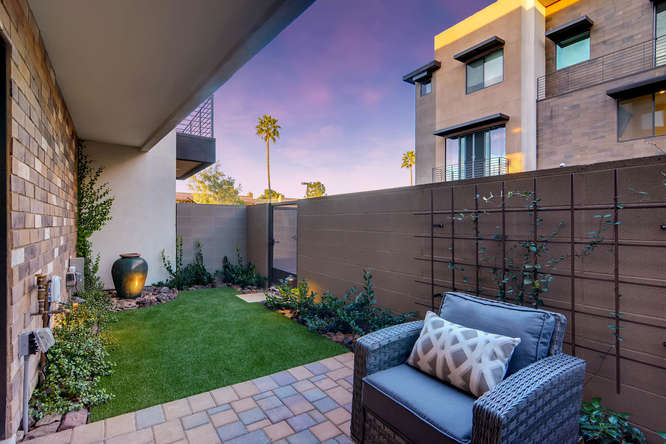 Aerium Encore Private Backyard